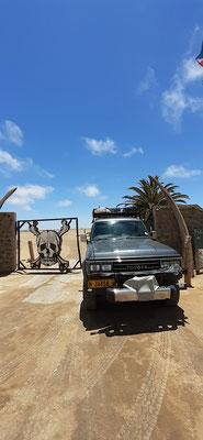 Gate zum Sketettküsten Nationalpark