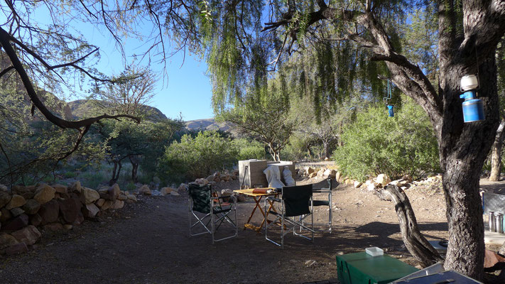 Campen in der Wildnis