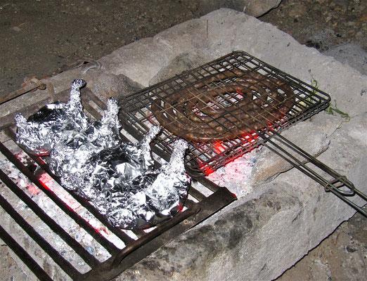 Leckereien vom Lagerfeuer