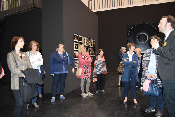 im Bereich Ausstellung Aldo Tambellini