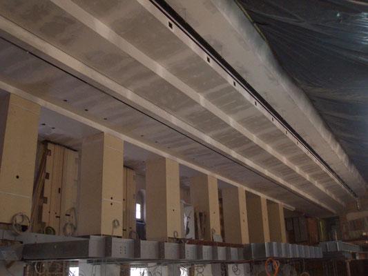 Trockenbau Deckenabstufung Kurhaus B-B, Bènazetsaal