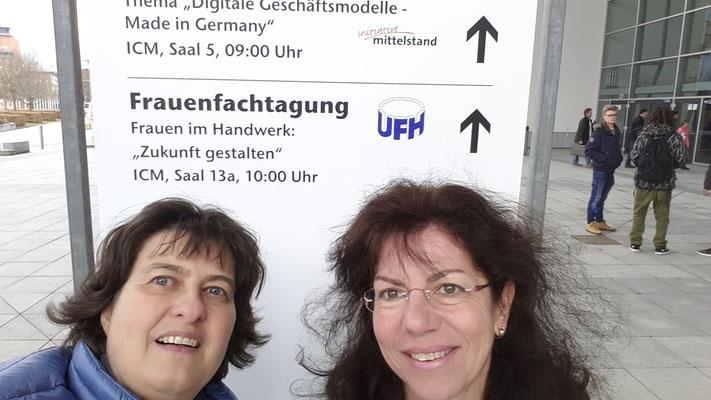 Annette Hermes-Schmid und Diana Steinel