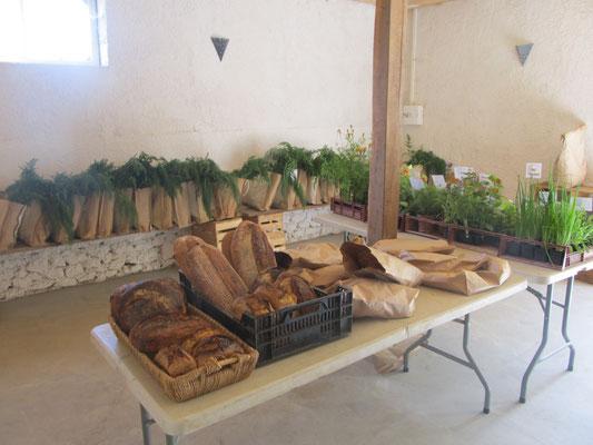 Le pain de la ferme de Naroques