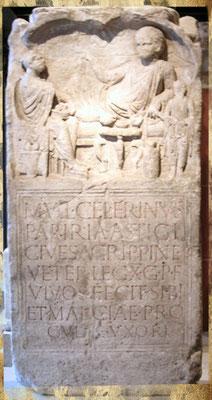 Pierre tombale de Celerenus