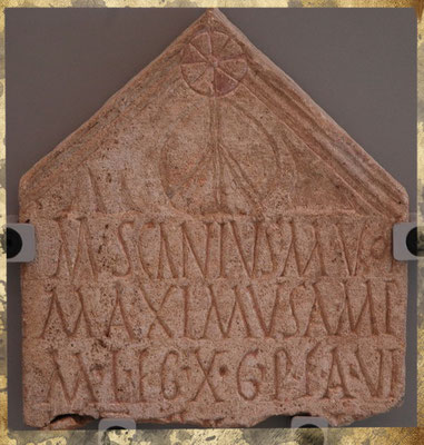 Pierre tombale de Marcus Scanius Marci Voltinia