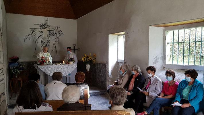 Dernière messe de Pierre Sallenave à la chapelle St MICHEL