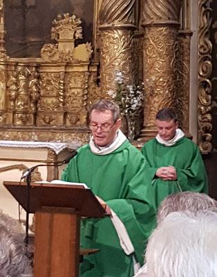 Abbé Armand Paillé  et abbé Barennes