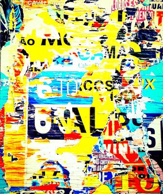 6AL, décollage, 55 x 48 cm, 2018