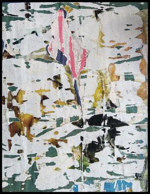 degolo, décollage, 26,1 x 20,2 cm, 2020