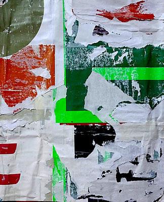 Geo, Décollage, 24,7 x 20,0 cm, 2017