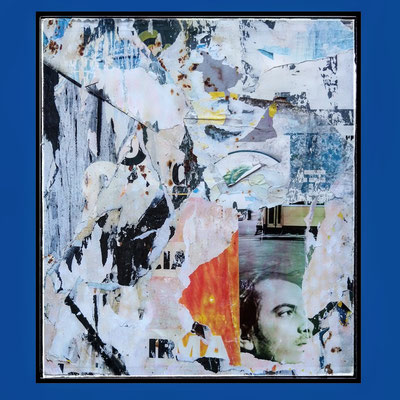 Erros, décollage, 45,3 x 39,6 cm, 2020