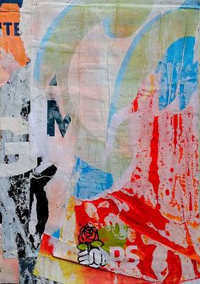 GMPS, Décollage. 24 x 16,7 cm, 2017