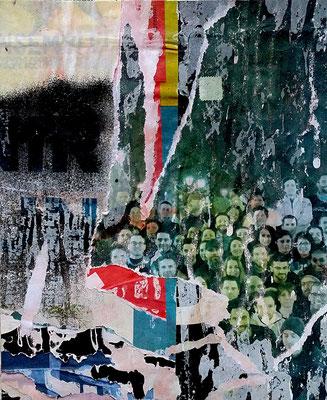 Marche, Décollage, 25,3 x 20,7 cm, 2017