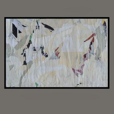 Keta, décollage, 18,3 x 27,5 cm, 2020