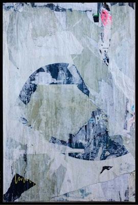 DITTE?, décollage, 53,3 x 35,4 cm, 2019