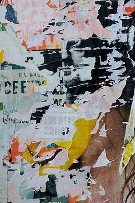 23h47, Décollage, 46,5 x 31,3 cm, 2017