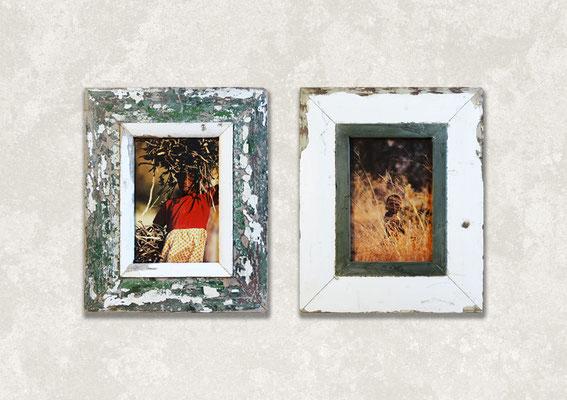 Composizione due cornici Cape Best 28x34 con foto di bambini in Africa