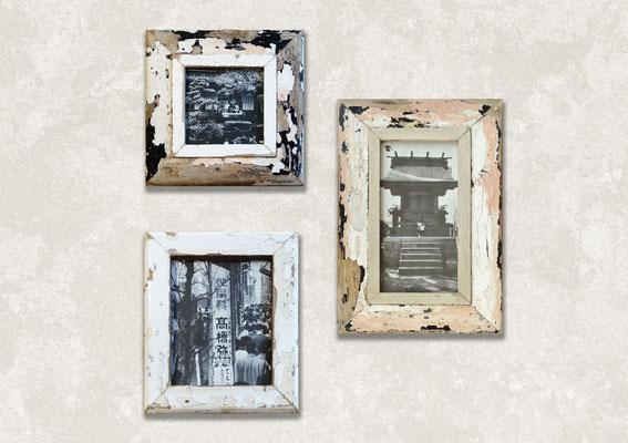 Arredamento contemporaneo con quadri con foto del Giappone in bianco e nero
