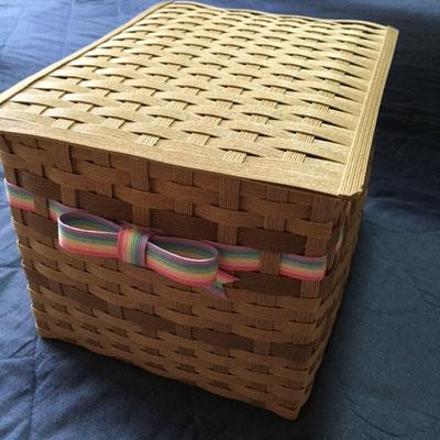 オーダーメイド クラフト 蓋付きボックス