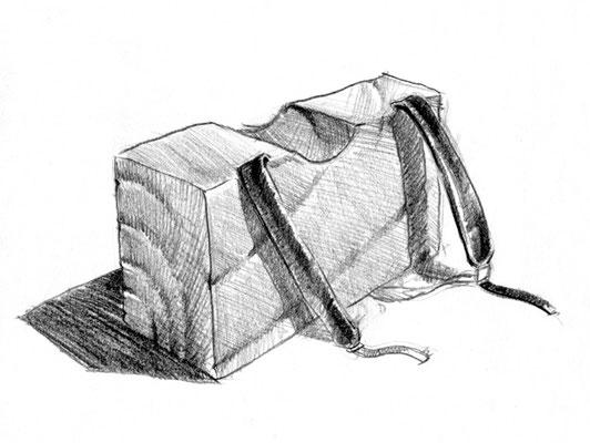 "Illustration für Miguel Oliveiras Gedichtband ""Sem Titulo"",  © André Gonçalves"