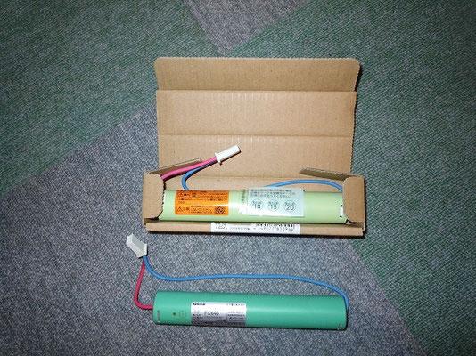 避難誘導灯の交換用バッテリー