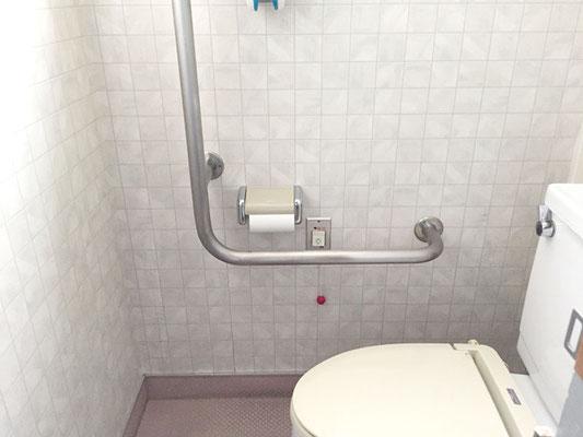 呼び出しボタンが故障した病院のトイレ【新潟市西区】