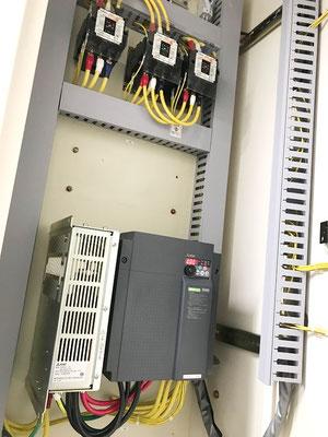 動力用電気コンバーター交換工事の様子。その8【新潟】