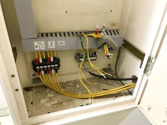 動力用電気コンバーター交換工事の様子。その5【新潟】