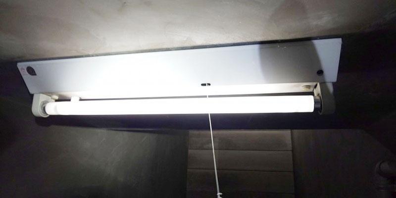 照明器具(非常灯併用型)点灯時