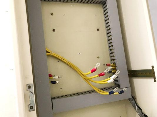 動力用電気コンバーター交換工事の様子。その4【新潟】