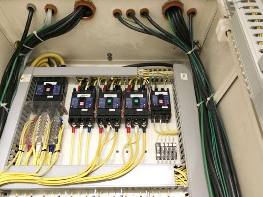 動力用電気コンバーター交換工事の様子。その2【新潟】