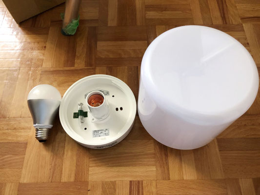 浴室照明器具の交換部材【新潟】