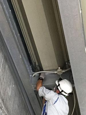 屋内での電気配線工事の様子。その3【新潟】