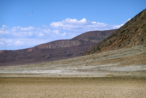 Martian landscape at Death Valley National Park