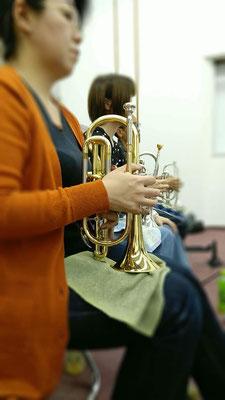 コルネット奏者募集!楽器貸し出し可能です♩