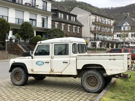 Land Rover sieht man doch einige unterwegs