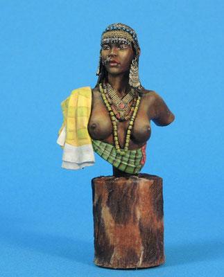 Femme Afar, Est de l'Ethiopie