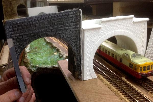 """Comparaison entre les tunnels """"old school"""" et ceux de Pn Sud...."""