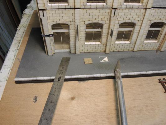 un regard en ciment pour chambre de tirage