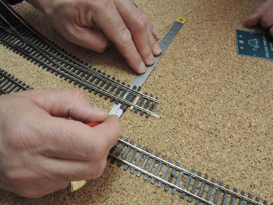 Le mécanisme de l'aiguille est simplifié pour être actionné ensuite par un moteur Tortoise