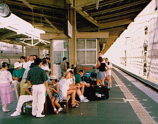 Foto Silvana Hahlgans Fahrt mit Shinkansen