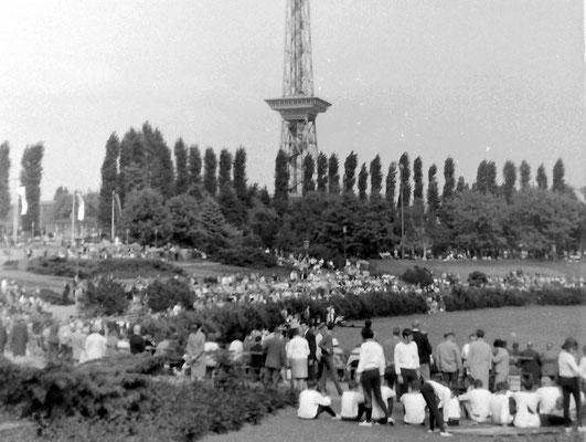 Deutsches Turnfest Berlin 1968 Foto Hans-Wilhelm Linker