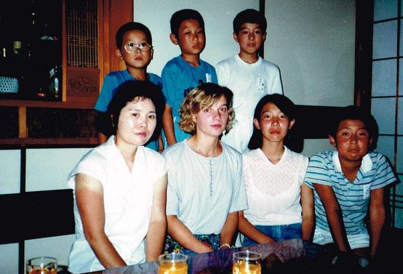 Foto Silvana Hahlgans Abend in Gastfamilie