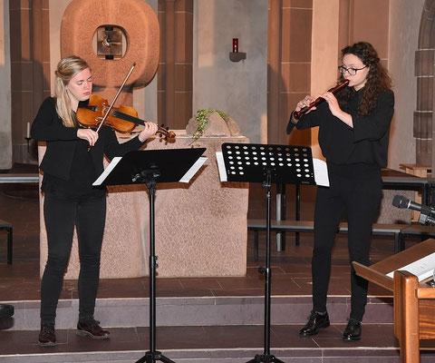 Hannah Kaupp und Jasmin Vorhauser