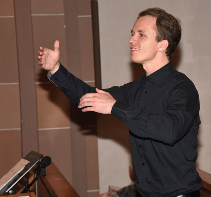 Chorleiter Johannes Kaupp