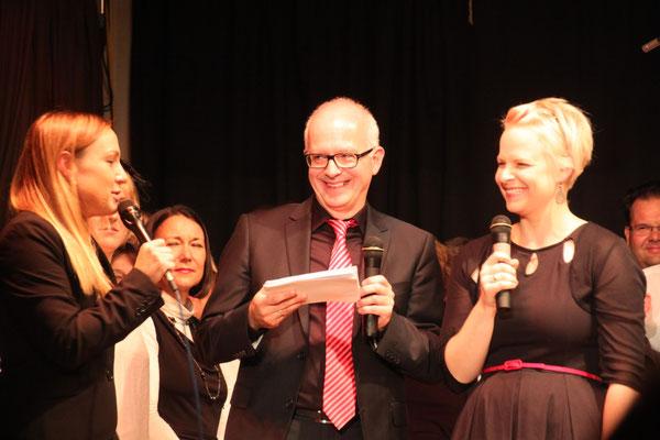 Karin Späth, Thomas Modig und Sabine Kamien