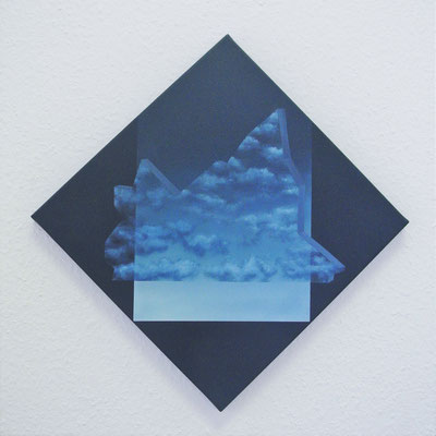 iceclouds // 30x30cm // oil on canvas