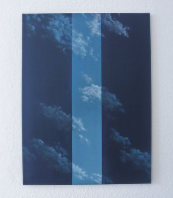 skyborder // 80x100cm // oil on canvas