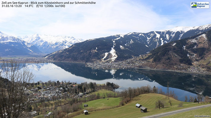 View from Zell am See to Kaprun