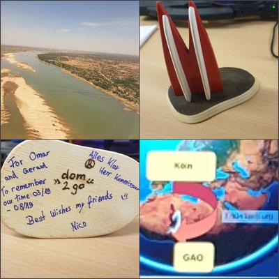 Afrika, Mali: Der Dom auf diesem Bild ist in Mali geblieben, nun steht er in Gao. Für einen Freund als Erinnerung an Kölle (Nico)